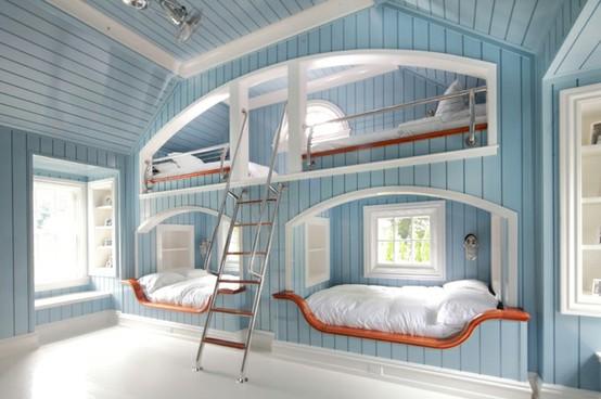 bunk beds. quad bunk bed - Quadruple Bunk Bed €� Bunk Beds Design Home Gallery