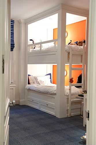 built in bunk bed designs