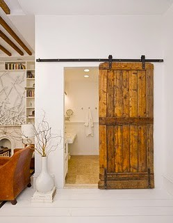 External Pocket Door barn doors | redesigning sarah